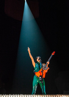 St Vincent shot for Back Beat Seattle | by John Rudolph Photography