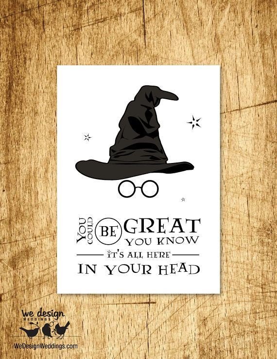 Positive Quotes Printable Harry Potter Sorting Hat Bir Flickr