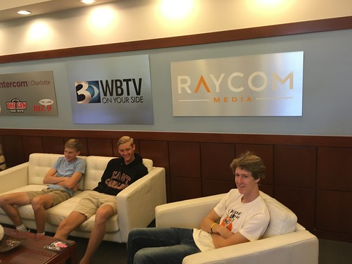 Video Production Trip to WBTV | Gaston Christian School