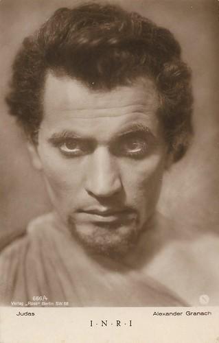 Alexander Granach in I.N.R.I. (1923)