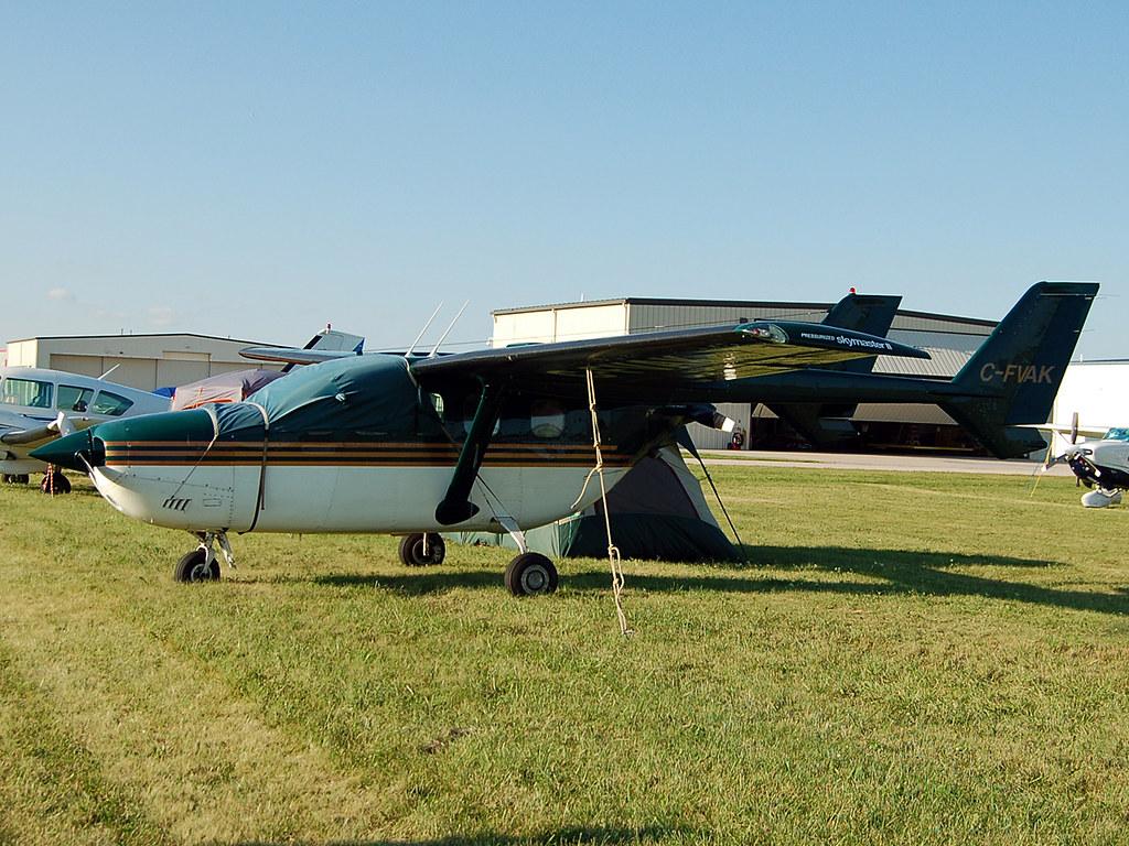 C-FVAK Reims/Cessna FT337GP Super Skymaster | John Yates