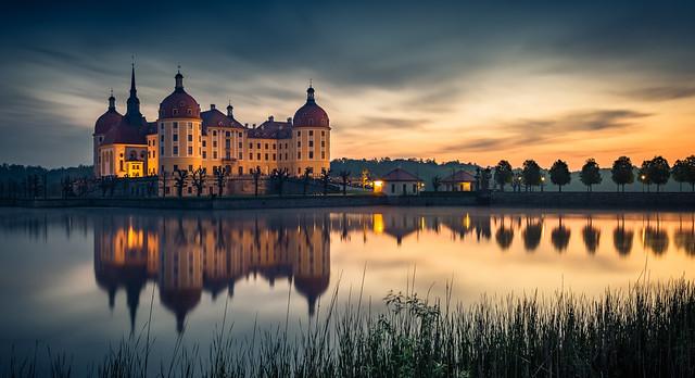 another sunset at Moritzburg