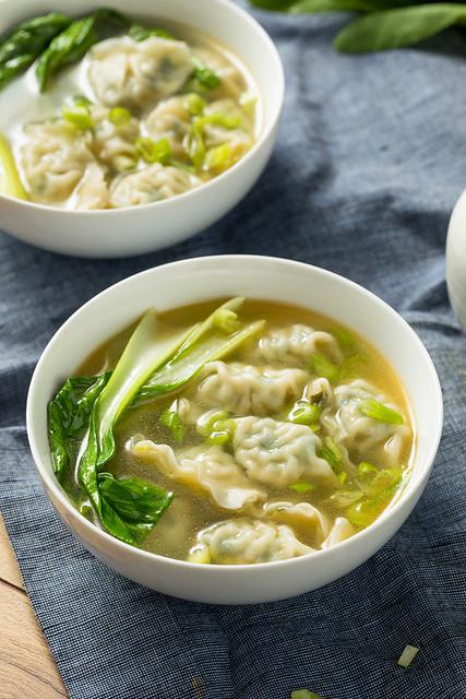 Homemade Chinese Wonton Soup