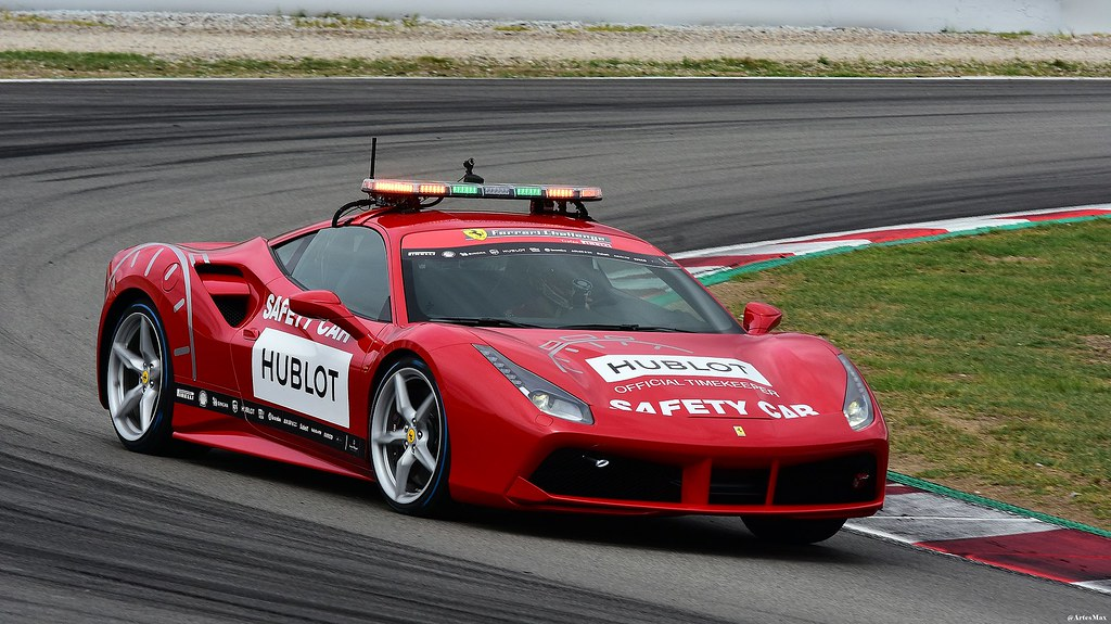 Ferrari 488 Gtb Safety Car Ferrari Challenge Ferrari Cha Flickr