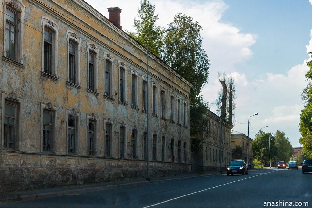 Обер-офицерские жилые дома, Выборг