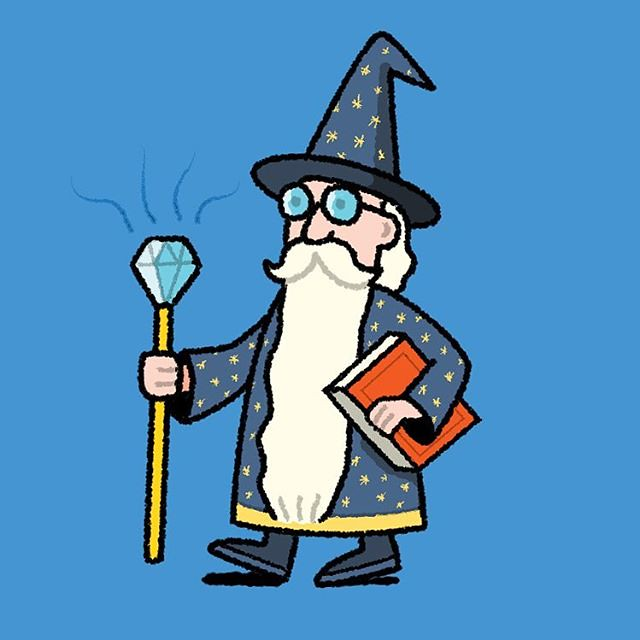 Fantasy Art Book Wizard