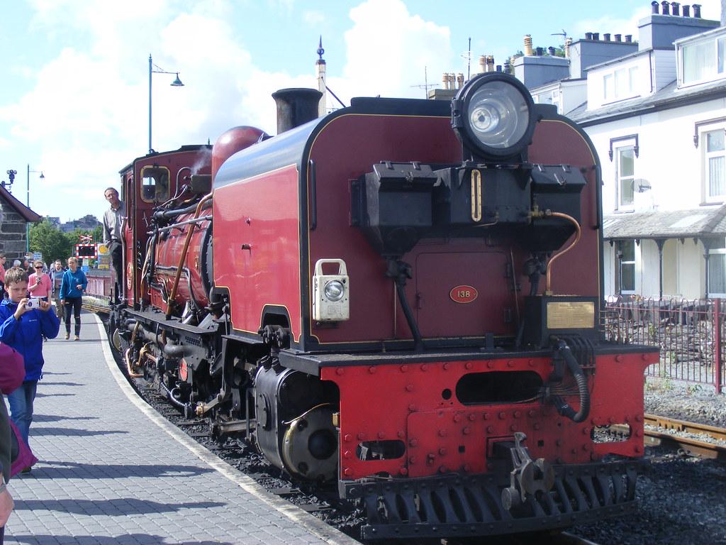 Beyer-Garratt locomotive, Porthmadog, Gwynedd, Wales by Alex Passmore