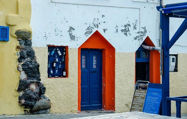 House facade in Mandraki
