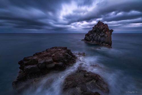 sony ilce7rm3 madeira portugal dramatic longexposure waterscape beach rocks clouds mirrorless cloud trails logan darklogan1 pinnacles basalt sunset sky rock landscape water ocean sea sonya7r3 sony1635mmf28 santacruz dusk