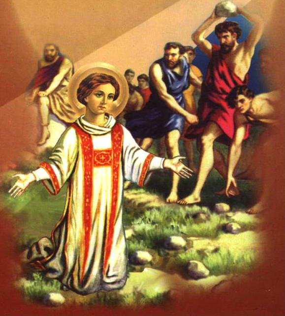 الشهيد إسطفانوس رئيس الشمامسة  وأول الشهداء