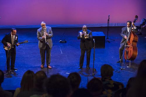 Dr. Michael White Quartet at the WWOZ Groove Gala on September 6, 2018. Photo by Ryan Hodgson-Rigsbee www.rhrPhoto.com