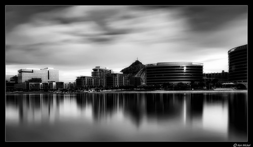 arizona cityscape clouds cloudscape cloudy kenmickelphotography lake lakes landscape longexposure longexposurephotography outdoors reflections sky tempe tempetownlake waterscape weather architecture blackandwhite nature photography water unitedstates us