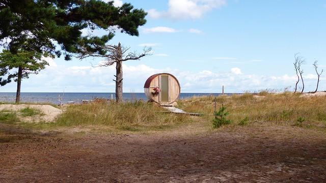 Camping place Saulesmājas (Kolkasrags, Latvia, 20180806)