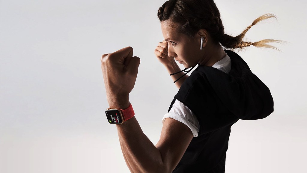 Proactive Health Monitor. Part guardian, part guru. ECG on your wrist. Low and high heart rate notifications. Fall detection — Apple Watch Series 4. Shop via https://store.bellestoreinc.com/apple-watch/. #photography #photo #applewatch