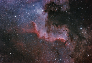 The Cygnus Wall in NGC7000 | by pete_xl
