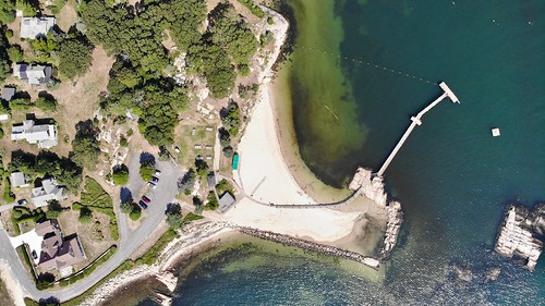 nonquitt aerial landscape beach 2018 summer pier massachusetts