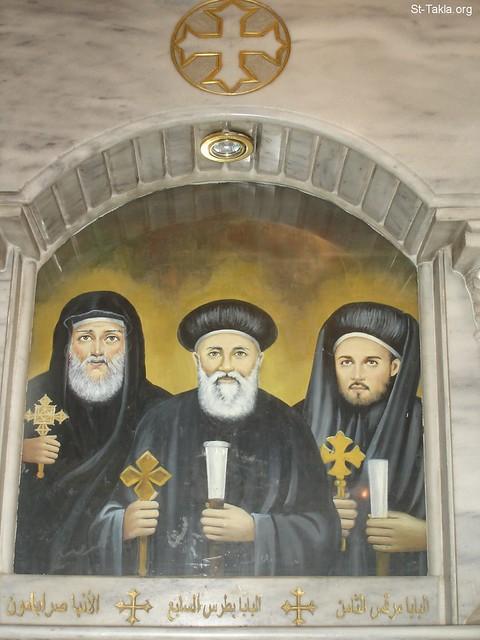 صورة من الكنيسة المرقسية بالأزبكية