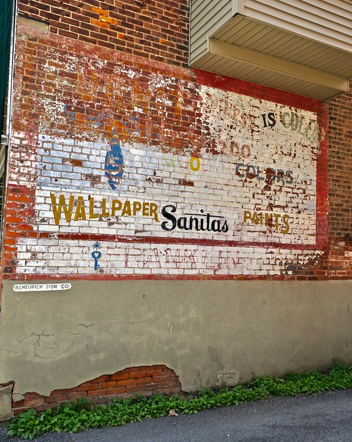 Ghost Sign, Paulding, OH