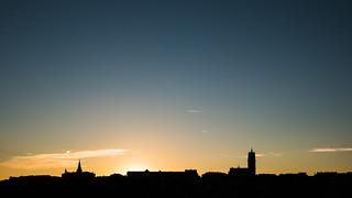 Le ciel au dessus de Rodez | by Nathalie Falq