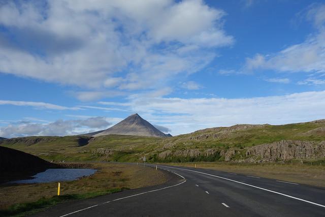 On the way to Ísafjörður.