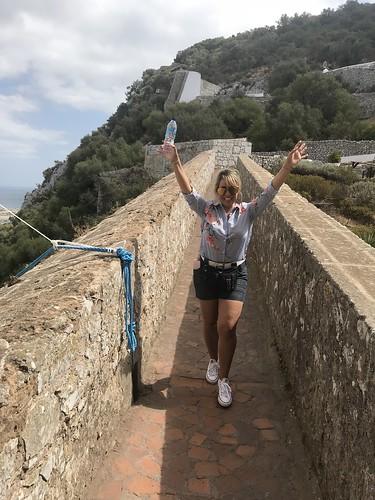 Moorish Castle walkway | by iamsittingpretty