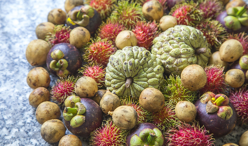 Vietnamese Exotic Fruits Tuyen Chau