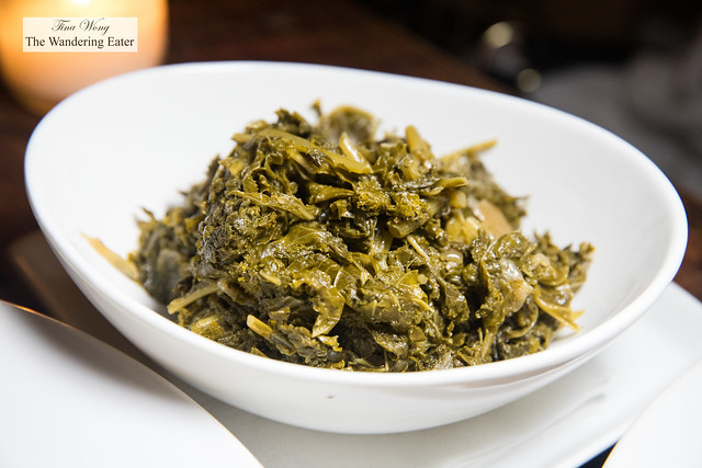 Smoke kale