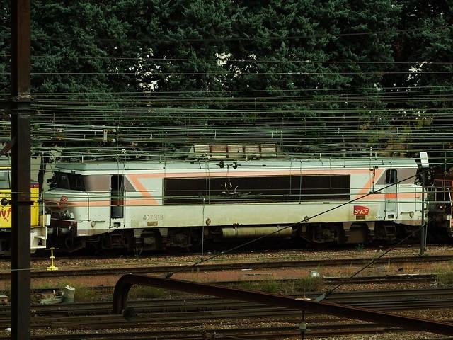 BB-7318 Gare de Triage de St Pierre des Corps (37 Indre et Loire) 30-08-18a