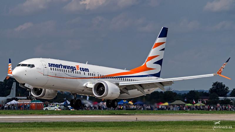 OK-SWB SmartWings Boeing 737-8 MAX