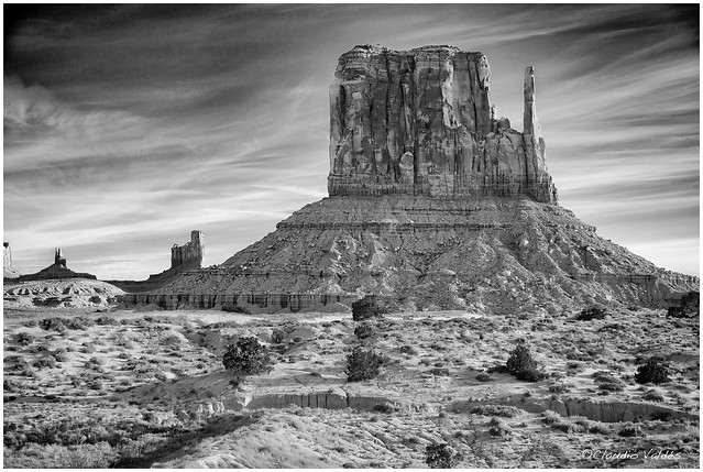 Morning at Monument Valley