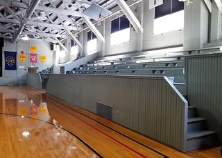 IN, Knightstown-Hoosier Gym South Bleachers