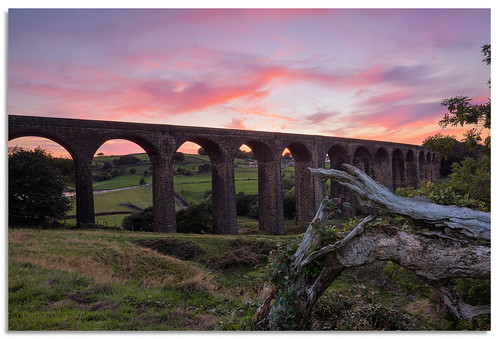 hewendenviaduct hewenden viaduct sunset yorkshire bradford d600 2018 nikkor1635mmf4 sky