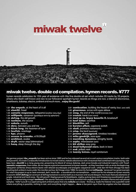 ¥777. v.a.. miwak twelve