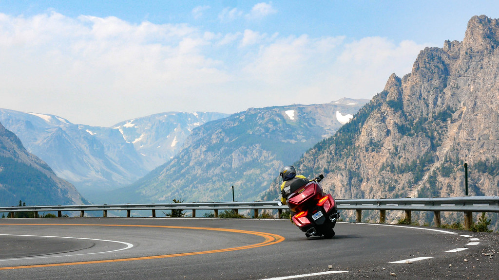 Beartooth Pass, Montana on a 2018 Honda Goldwing | John Flores | Flickr