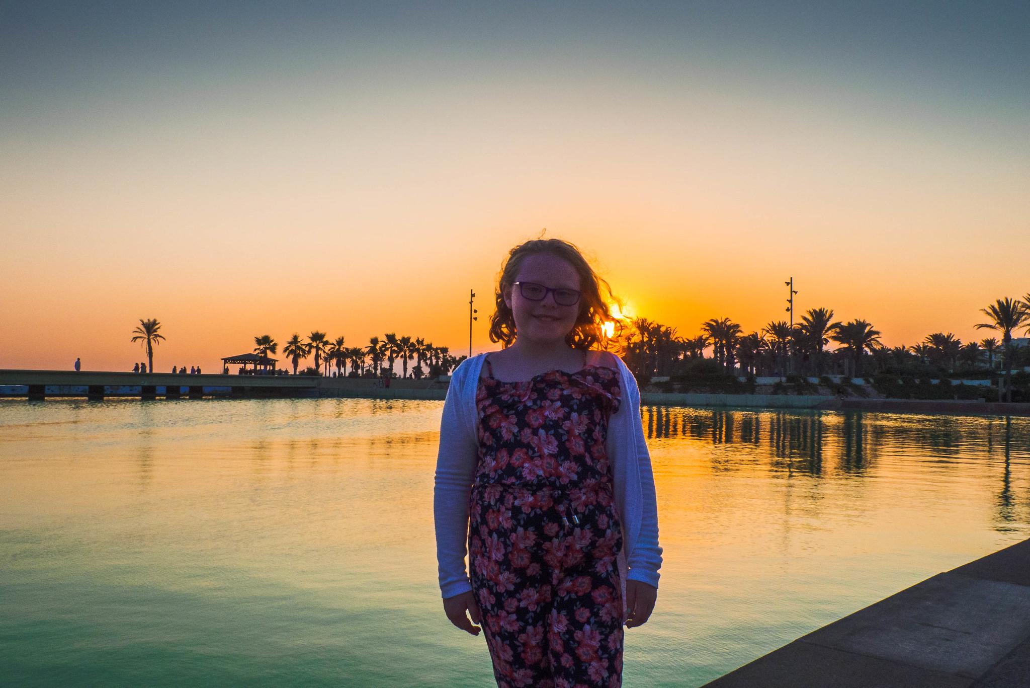 Spain - First Evening Sunset
