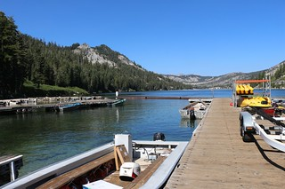 3232 Back at the boat dock on Echo Lake - now I just have to get the car and load our packs - the hike is over   by _JFR_