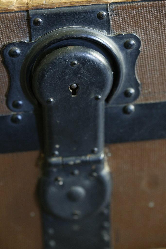 "35  Lock marked ""Yale & Towne MFG CO Stamford Conn USA AB"