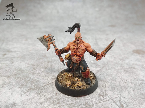 Khorne Bloodbound warband | by Wargaming Mamas