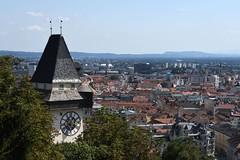 Graz, Uhrturm (16. Jhdt.) am Schlossberg