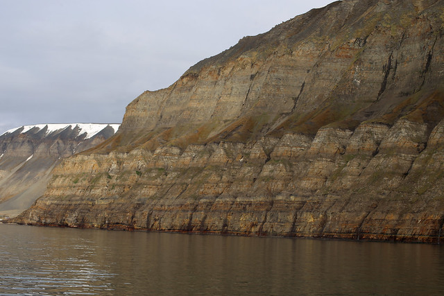 Boat trip from Barentsburg to Longyearbyen