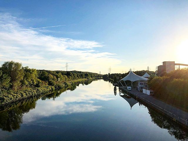 #Kanal #Nordstern #park #buga #gelsenkirchen #nordsternpark #reflektion #wasser #industriekultur #industrialculture #sunset #masteruser1999 #2018 #september #flickr