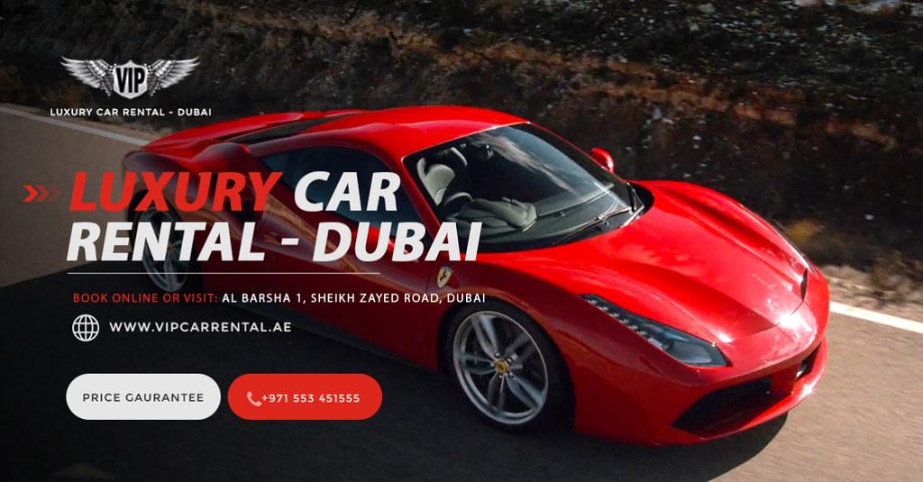 How To Enjoy A Drive At Ferrari In Dubai Vip Car Rentals Flickr