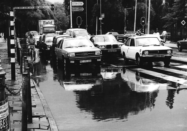 wateroverlast Amsterdam
