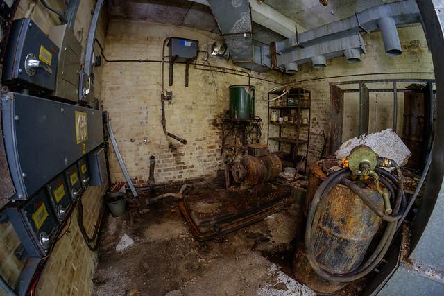 Cardiff civil defence bunker