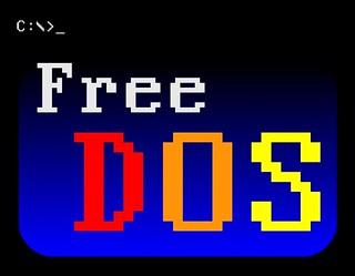 FreeDOS logo   by poopius_rex_doopius