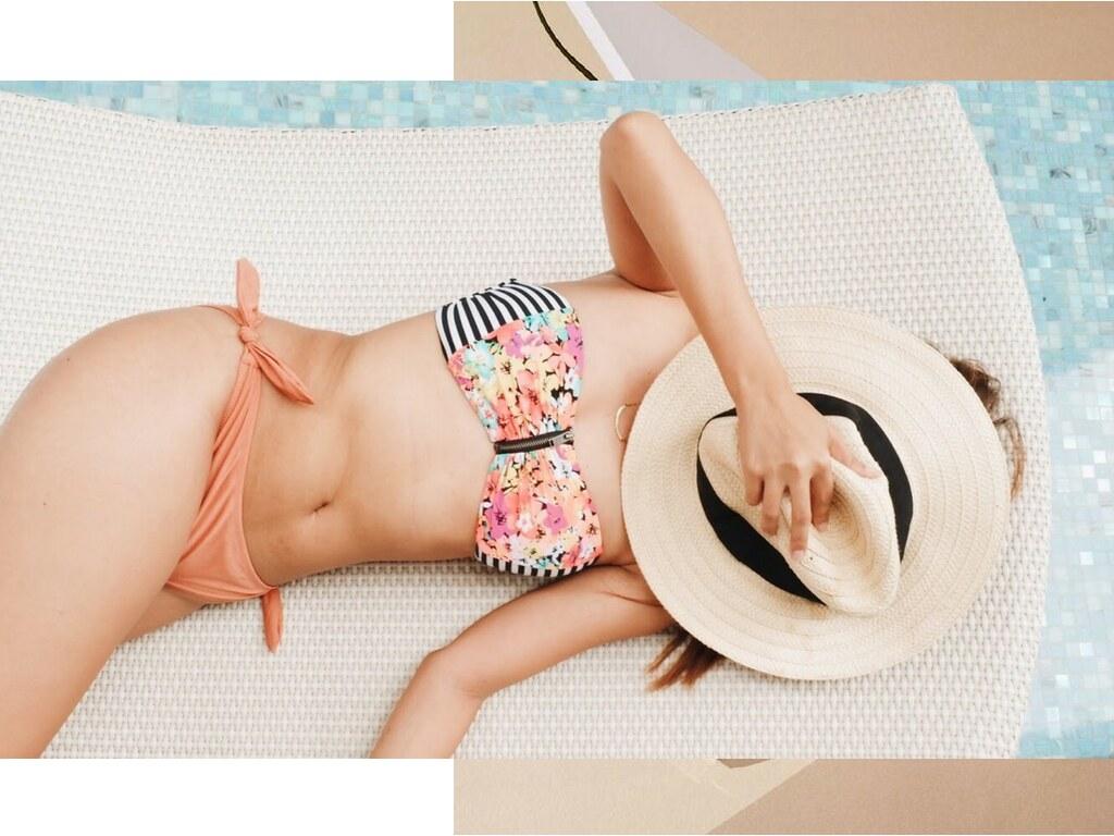 Eika x Camile - Floral Stripes