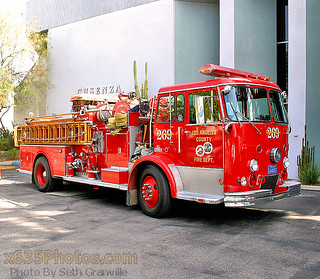 Los Angeles County Fire Department Engine 269