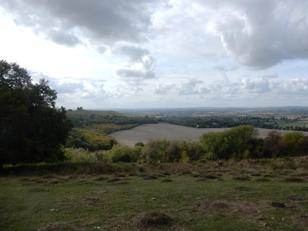 View from Coombe Hill Princes Risborough to Wendover