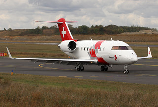 HB-JWB CL600 Swiss Air Ambulance | by Tango W