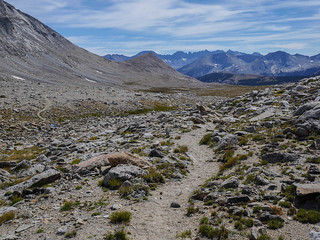 Heading east into upper Tyndall Creek, Kawaeh ridges in the distance   by snackronym